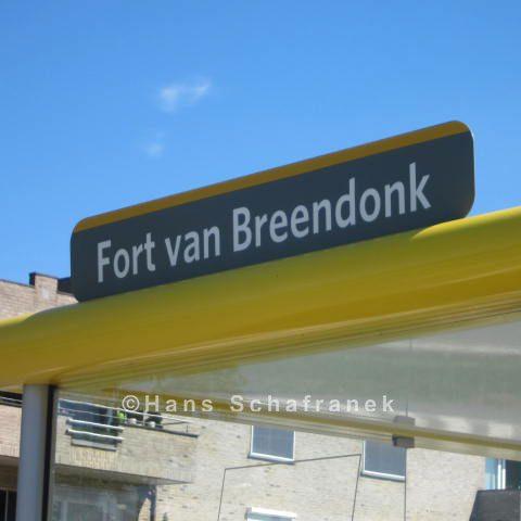 Haltestelle Fort de Breendonk