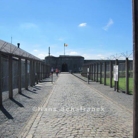 Eingang Fort de Breendonk