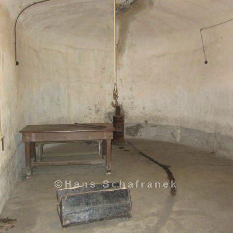 Folterkammer Dauerausstellung Fort de Breendonk
