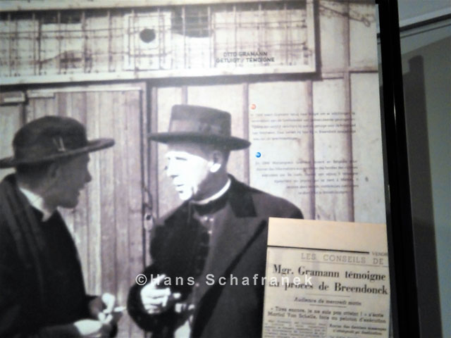 Otto Gramann Dauerausstellung Fort de Breendonk